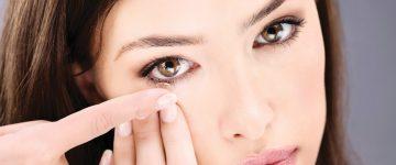 Polutvrde plinopropusne kontaktne leće
