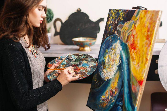 Utjecaj vidne oštrine na umjetnička djela