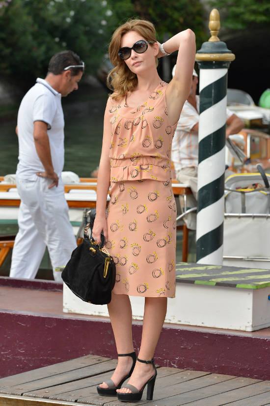 Cristiana Capotondi suncane naocale Vogue