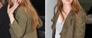 Amy Adams nosi sunčane naočale Burberry BE 3060 1003/13