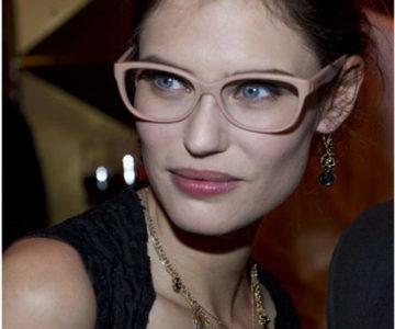 Bianca Balti nosi dioptrijske naočale Dolce Gabbana DG 3136 2585