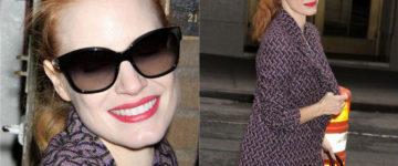 Jessica Chastain nosi sunčane naočale Stella McCartney SM4037 20558G