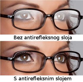 antirefleksne naočale