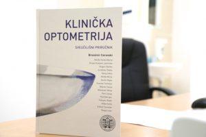 knjiga klinička optometrija, knjiga optometrija, sveučilišni priručnik optometrija