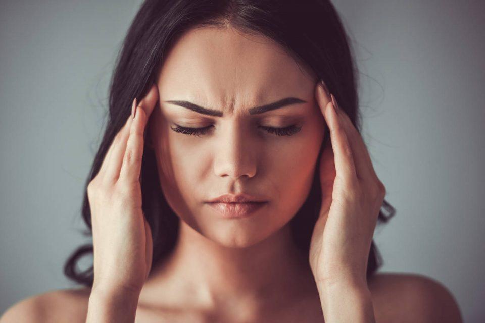 očna migrena, migrena s aurom