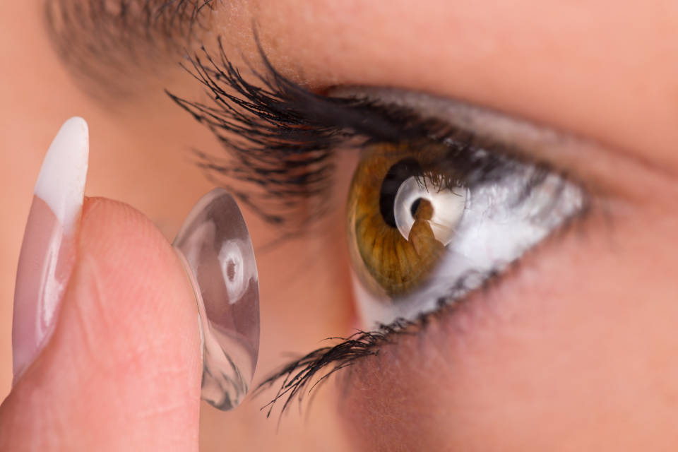 Ulkus roznice i kontaktne lece