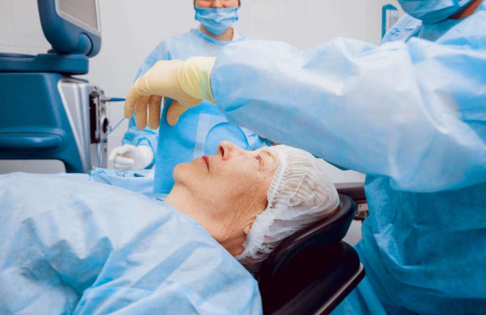 katarakta na oku operacija