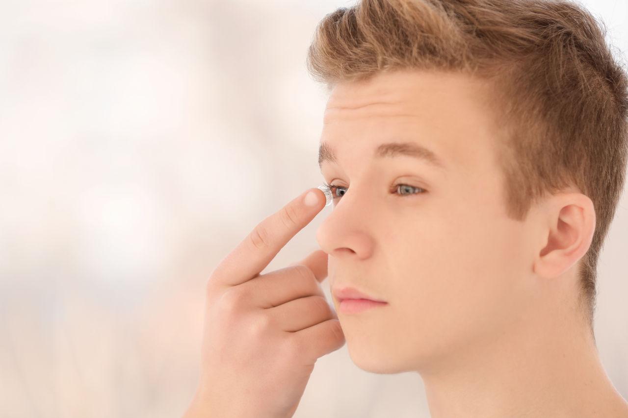 kontaktne leće tinejdžeri, tinejđeri leće