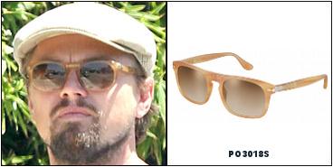 Leonardo DiCaprio naocale Persol