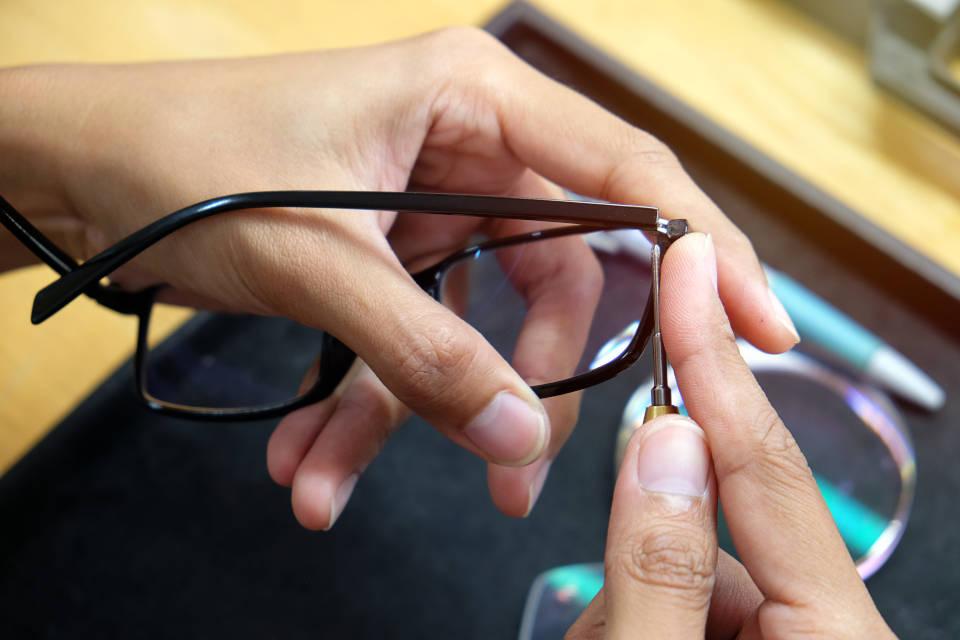 Kako podesiti naočale kod kuće?