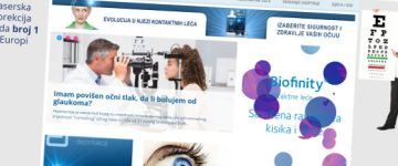 Redizajn portala Optometrija.net