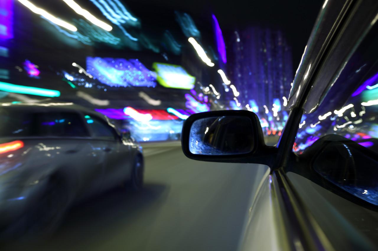 vožnja po mraku, zabljestenje kod nocne voznje, vid kod noćne vožnje