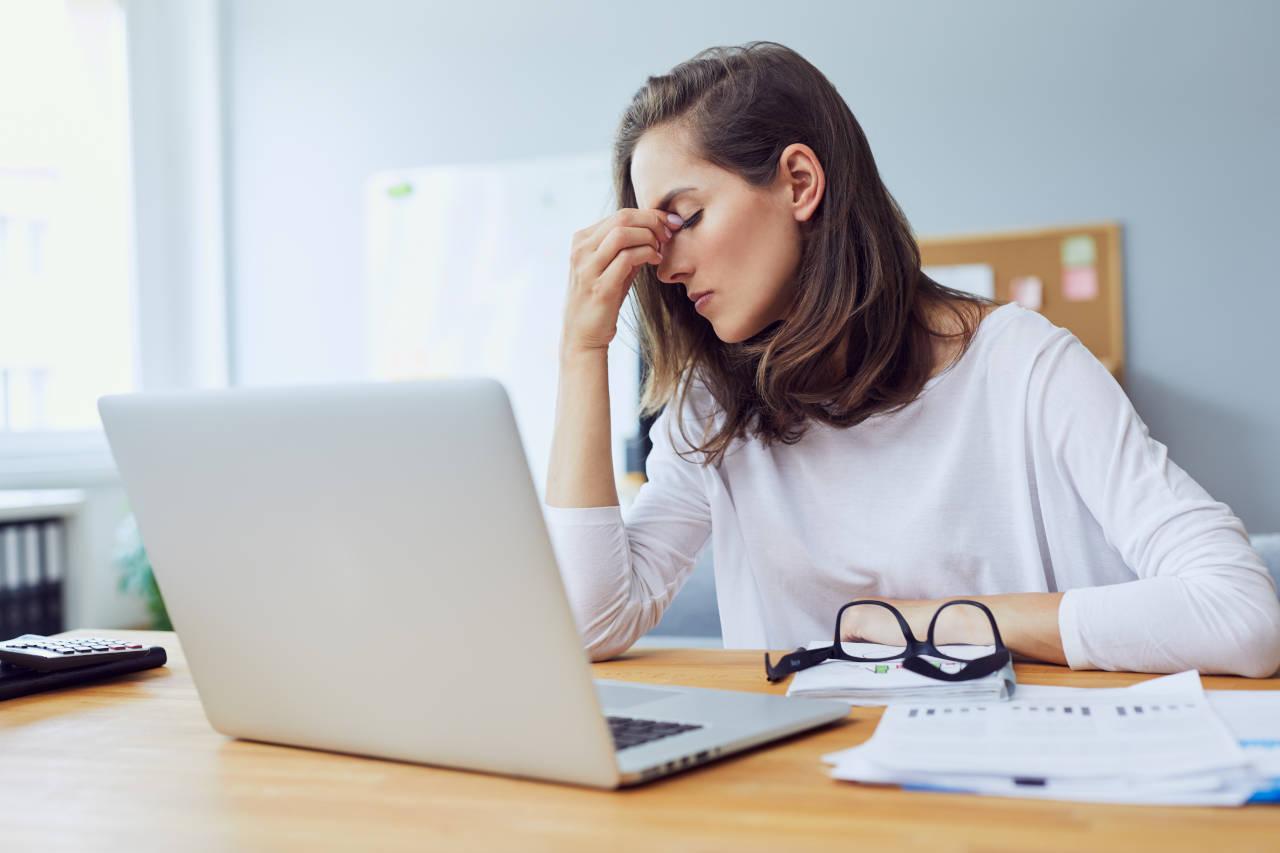 Bolovi u očima zbog rada na računalu
