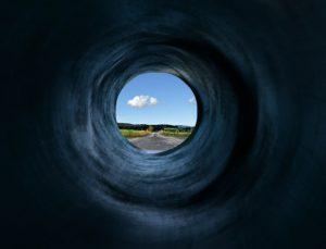periferni vid, tunelski vid