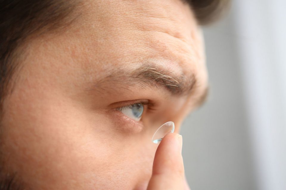 kontaktne lece crveno oko, CLARE, crvene oči leće