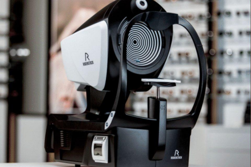 Rodenstock aparat za mjerenje dioptrije očiju, DNEye Scanner 2+