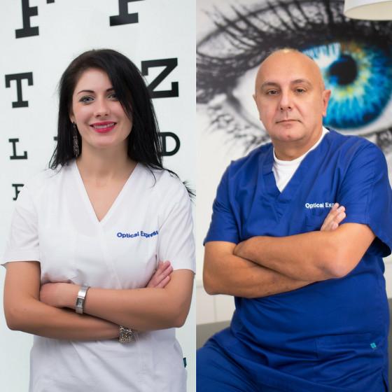 dr. Mirna Belovari i dr. Dean Šarić oftalmolog