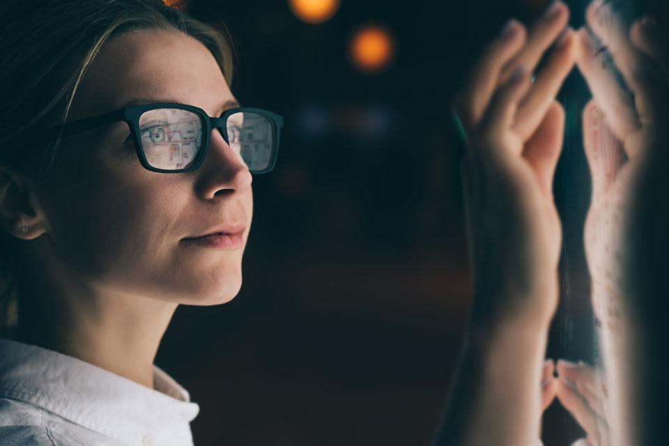 Filter plave svjetlosti na naocalama za vid