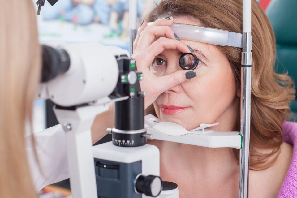 elanom oka, očni melanom