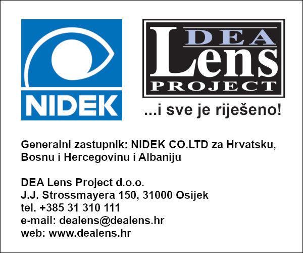 Nidek oprema DEA Lens