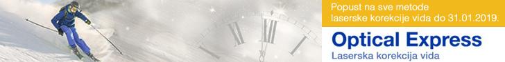 Optical Express skidanje dioptrije popust