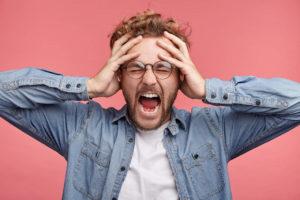 stres problemi s vidom, stres oči