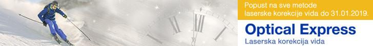 Optical Express skidanje dioptrije