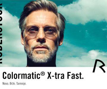Rodenstock ColorMatic® X-tra Fast – najbolji vid u svim svjetlosnim uvjetima