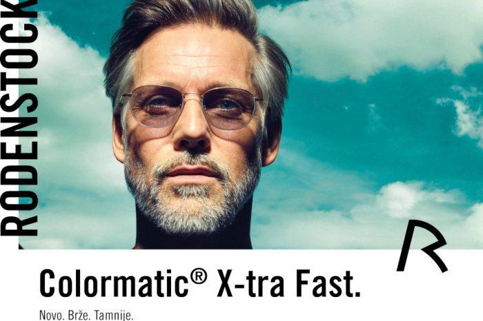 Rodenstock ColorMatic® X-tra Fast - najbolji vid u svim svjetlosnim uvjetima