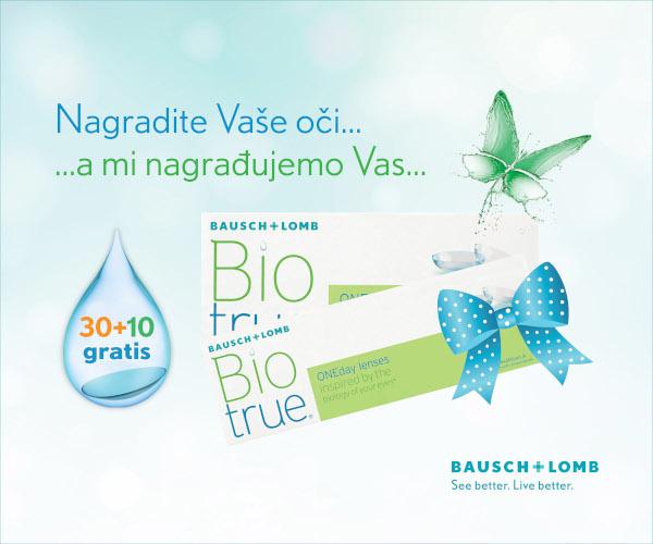 Biotrue ONEday lece gratis