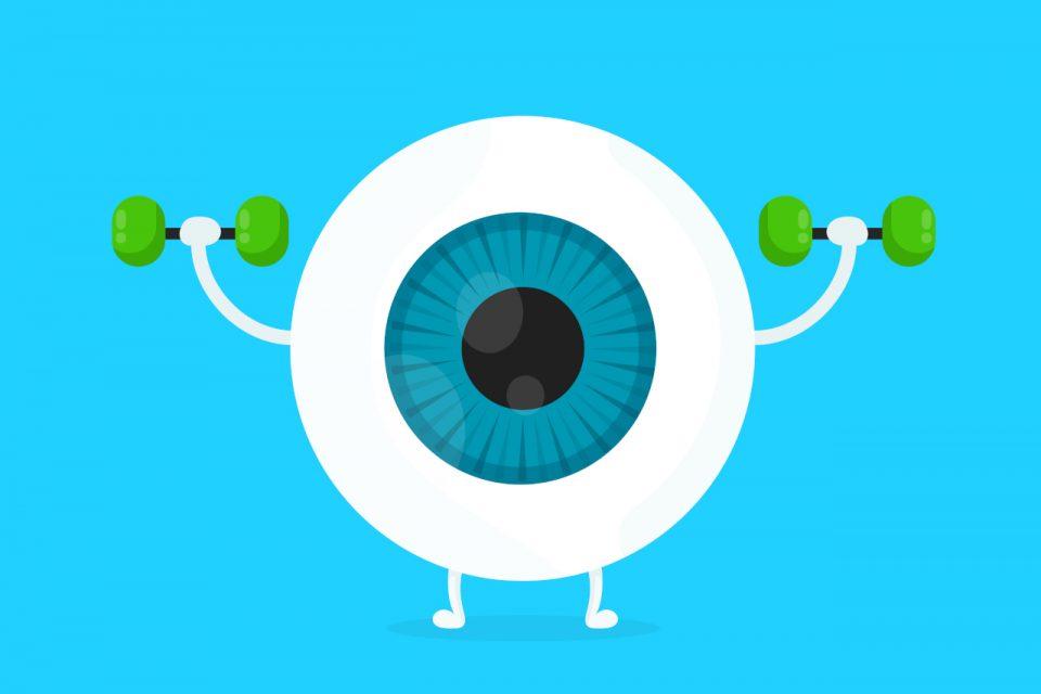 vježbe za oči