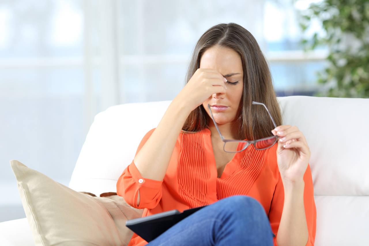 naprezanje očiju i glavobolja