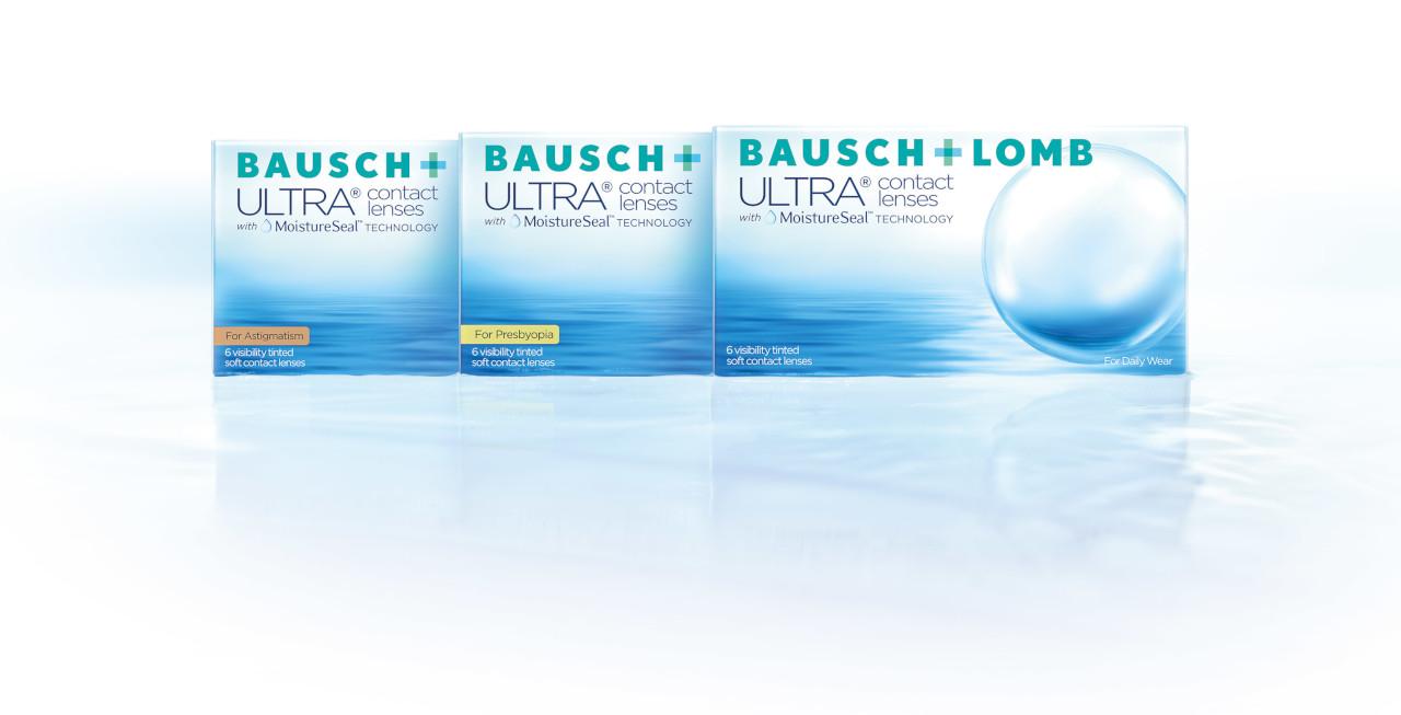Kontaktne leće Bausch + Lomb ULTRA