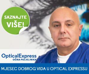 mjesec dobrog vida Optical Express