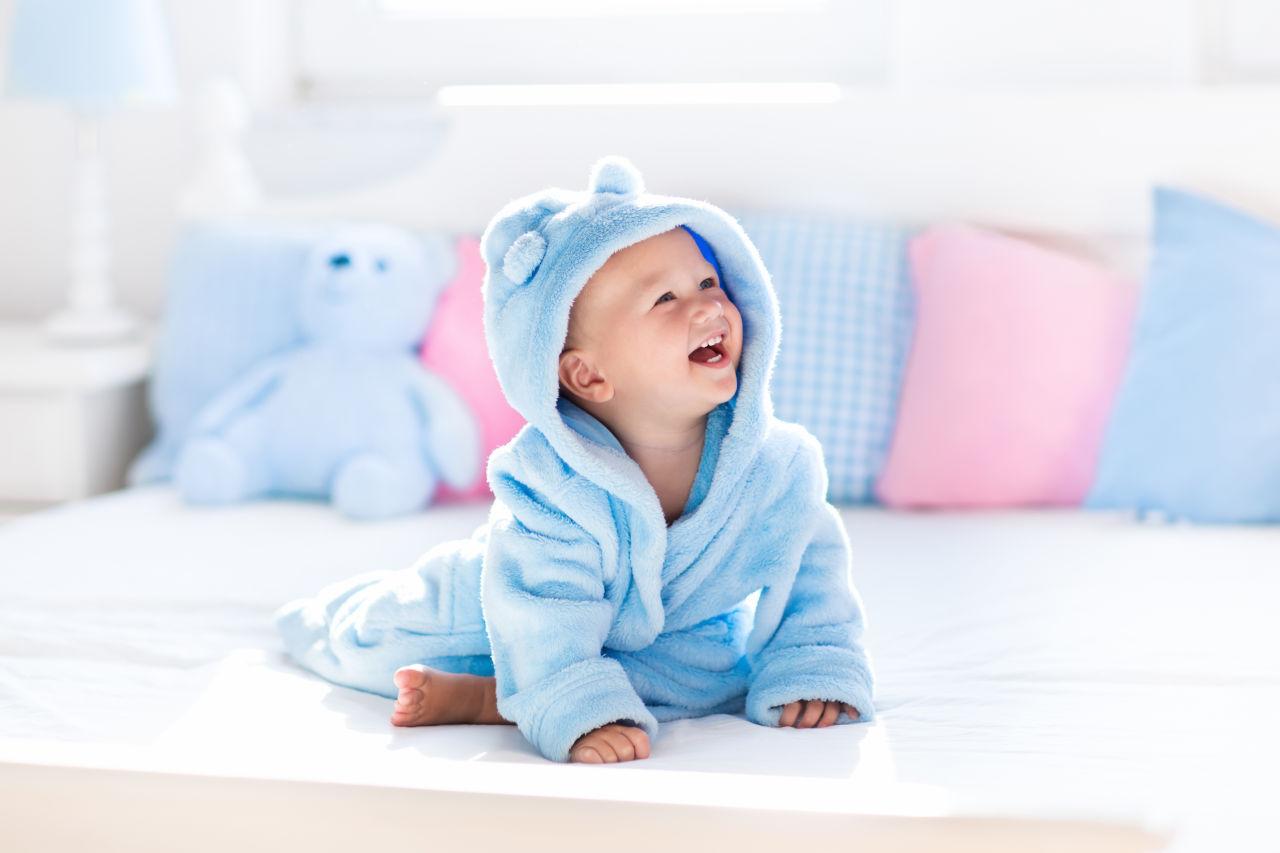 Plava boja očiju kod beba