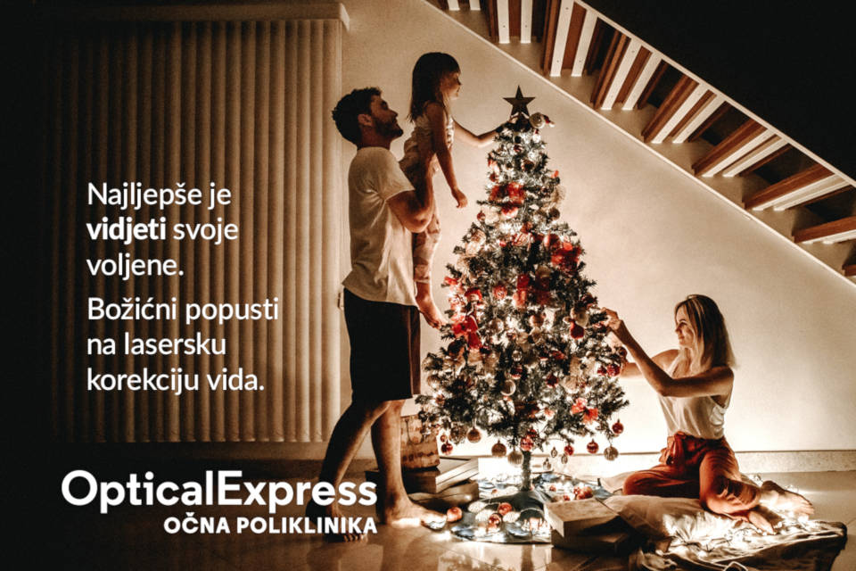 Optical Express poliklinika Bozicni popust