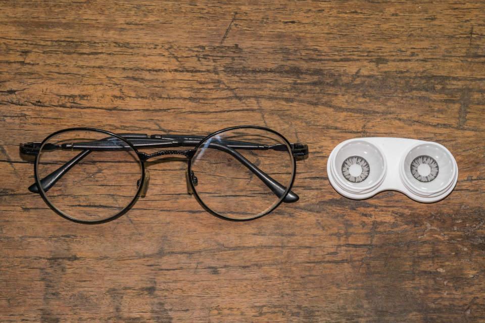 naočale i lece