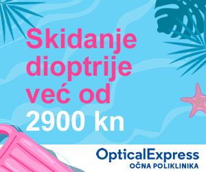 Optical Express skidanje dioptrije ljetni popust